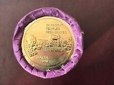 2 euro commémorative MALTE 2019 - Temples de Ta'Hagrat
