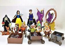 Completed Set Disney Japan Tomy Snow White Magical Collection Figure Rare