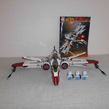 LEGO 7259 Star Wars ARC-170 Fighter. 100% COMPLETO CON 4 minifigures.