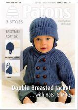 Patons 3825 Six Woodland Animals to Knit Book 2 Soft Toys Knitting Pattern