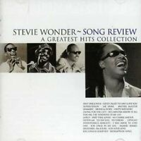 Stevie Wonder - Song Review: A Greatest Hits Collection [CD]