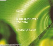 ECHO & THE BUNNYMEN - Nothing Lasts Forever (UK 3 Tk CD Single Pt 1)