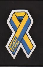 BOSTON BRUINS BOSTON STRONG MEMORIAL RIBBON PATCH BOSTON MARATHON TRAGEDY PATCH