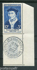 FRANCE 1956, timbre 1066, GUILLAUME BUDE, OBLITERE 1° JOUR d' EMISSION
