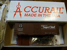 Accurail Ho #3501.1 (40' Aar Sd Steel Box) Atsf