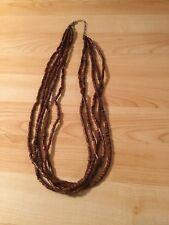 Designer Wooden Bead Fashion Necklace New