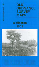 OLD ORDNANCE SURVEY MAP WOLLASTON 1901