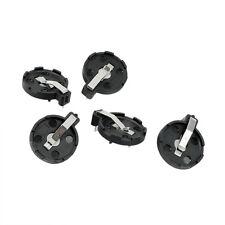 CR2016 2025 2032 Coin Cell Button Battery Holder Socket Black 5 Pcs LW