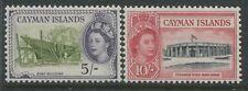 Cayman Islands QEII 1953 5/ & 10/ mint o.g.