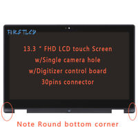 Sharp Corner Bezel Glass Digitizer New LTN133HL03-201 LCD Touch Screen