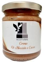 Crema di nocciole e cacao Spalmabile 200g con nocciole Siciliane #IORESTOACASA