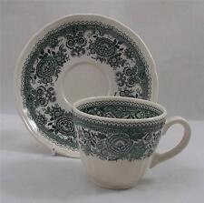 VILLEROY e Boch Burgenland Caffè Verde / Tazza da té e piattino
