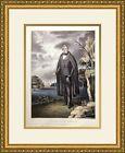 William Henry Harrison ,1835 Campaign Poster Custom Framed
