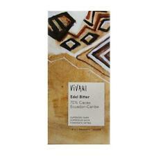 KS (3,65/100g) 2x Vivani Edel Bitter 70% Cacao Ecuador Schokolade bio 100 g