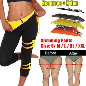 Neoprene Body Shaper Slimming Sport Trousers Sauna Sweat Yoga Pants Leggings Gym
