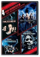 Final Destination 1 2 3 4 DVD Set Collection Horror Films Complete Scary Movies