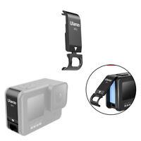 Metal Side Door Case for GoPro Hero 9 Black Protective Battery Cover Charging