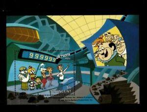 St. Vincent 1991 - Jetsons - The Movie, Cartoon - Souvenir Sheet - MNH