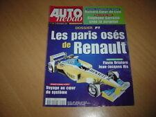 Auto hebdo N°1319 Renault F1.911 GT3 RS.550 Maranello