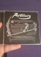 Deadly Relics by Artillery CD. Thrash Metal cd. Speed Metal Thrash Metal cd