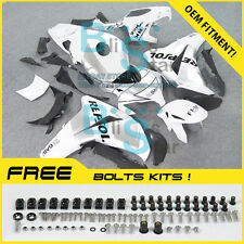 White Glossy INJECTION Fairing Fit Honda CBR1000RR 13 14 2012-16 23 A1