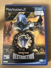 Robot Wars Arenas of Destruction (Sony PlayStation 2 2003 Complete With Manual