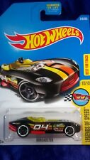Hot Wheels Rrroadster Legends Of Speed #10/10 Black Die-Cast Best For Track New