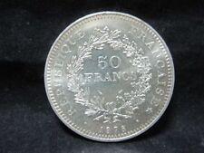 "Silbermünze 900er - Frankreich 50 Francs 1978 ""Herkulesgruppe"" VZ   6M5952"