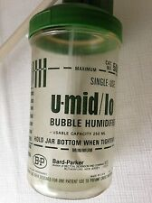 O2 Bubble humifier,disposable bottle ,BP,  for Repsiratory Therapy, new, ( 5pk)