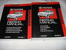 1998 Toyota 4Runner 4 RUNNER service manual shop repair workshop