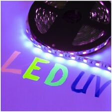 DEMODU® 12V LED Streifen UV PREMIUM 300 SMD 5050 Schwarzlicht Strip Strips Band