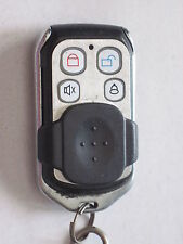 AFTERMARKET KEYLESS ENTRY REMOTE red led 4 BUTTON lock unlock panic alarm