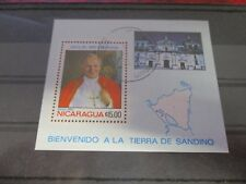 Papst, Papstbesuch - Nicaragua    B43