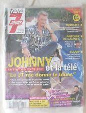 TELE 7 JOURS N° 2476 JOHNNY HALLYDAY neuf sous blister