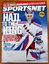 Sportsnet Magazine May 21 2012 Lundqvist 10 Dangerous Sports, L.A. Kings, Briere