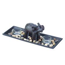 PartyLite Deko-Kerzenständer & -Teelichthalter mit Elefanten-Motiv