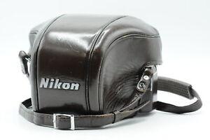 Nikon F3 Brown Leather Eveready Hard Case CF-20 #998