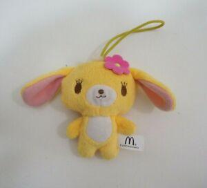 "Sugarbunnies Hanausa Sanrio McDonald's Strap Mascot 3.5"" Plush Toy Doll"