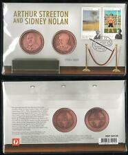 Ltd Ed. 1733/3500 ARTHUR STREETON and SIDNEY NOLAN PNC with 2 MEDALLIONS - MINT