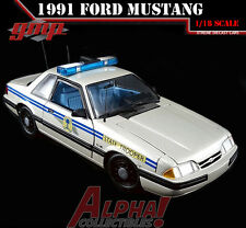 GMP 18844 1:18 1991 FORD MUSTANG SOUTH CAROLINA STATE HIGHWAY PATROL SSP