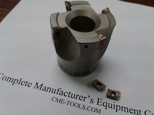 "2"" 90 degree indexable face mill, shell mill Sandvik R390-11T308 #506-SDVK-2"