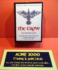 The Crow Movie Complete Set Of 100 Cards Series 1 1994 By James O'Barr