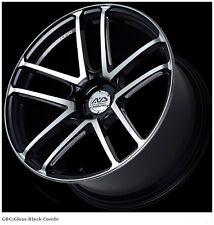 YOKOHAMA AVS MODEL F50 Wheels rims 9.0J/11.0J-20 for PORSCHE set of 4 from JAPAN