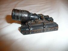 Vintage Pencil sharpener Miniature  Cannon PlayMe made in Spain