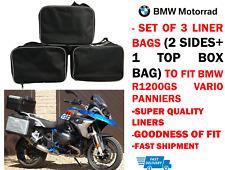 Bisaccia FODERE Borse & TOP BOX Sacchetti Per BMW Vario R1200GS F800GS F650GS ESPANDIBILE