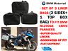 Packtasche Schutzfolie Taschen &top Dose für BMW Vario R1200gs F800gs F650gs