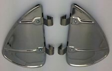 Vintage Style Chrome Accessory Vent Wing Air Deflector Breeze Breezies Pair (Fits: Truck)