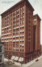 Lincoln Trust Building St. Louis Missouri 1916 Hammon Postcard