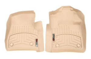 NEW WeatherTech Front Floor Liner Set Tan 4510541 F-250 F-350 Regular Cab 17-20