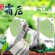 Organic Mulberry leaves tea herbal detox tea blood pressure lowering 5g*25bags